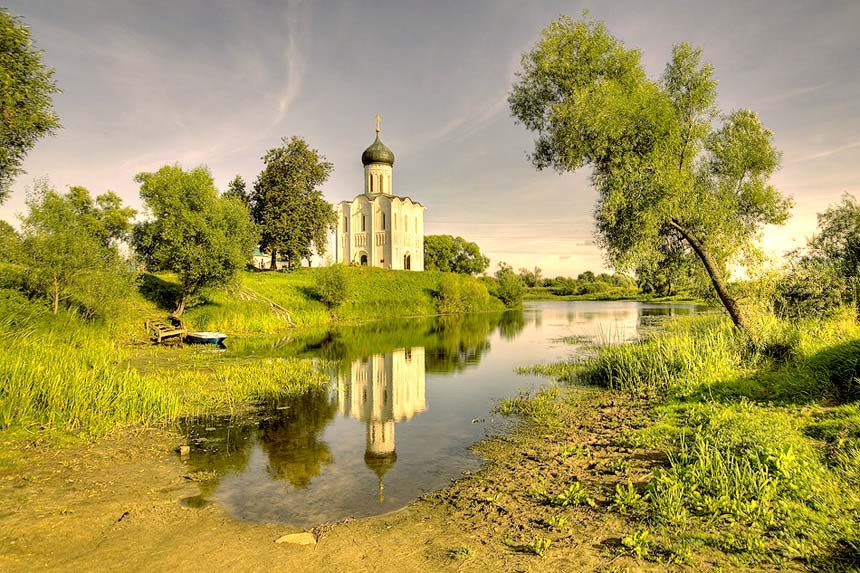 Church Pokrova on Nerl, UNESCO Heritage