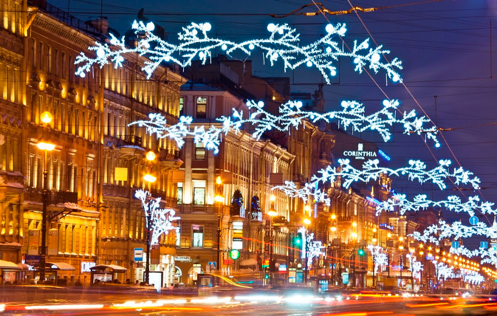 Winter Nevsky Prospekt