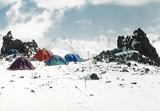 Camp on Zamok