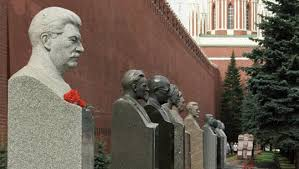 Stalin bust at Kremlin wall