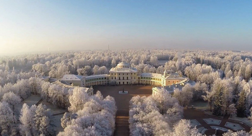 Winter Pavlovsk