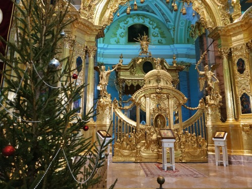 Xmas tree at PPF Cathedral