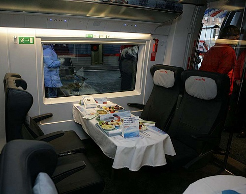 New summer timetable of high-speed train Sapsan