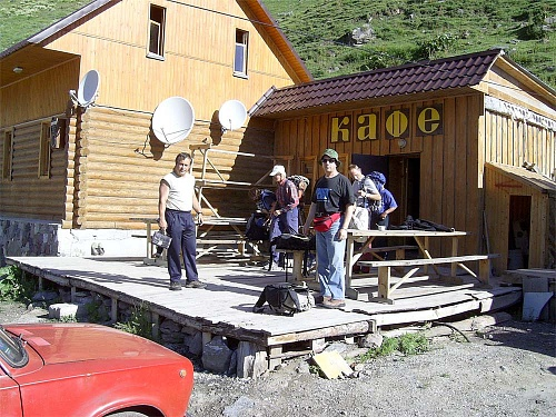 Inspection tour to Elbrus area, Aug 2005