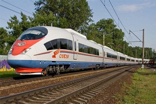 New High speed train St Petersburg-Moscow-Nizhni Novgorod
